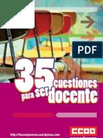 Feccoocyl 100415 Guia 35 Cues Ti Ones Para Ser Docente