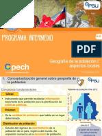 Clase 1_Geografía de La Población I Aspectos Locales