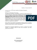 Carta Proyecto III