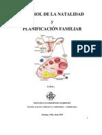 Control de la natalidad y planificación familiar.  monografía final