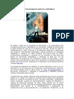 Atención de Emergencias Químicas y Radiológicas
