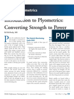 Introduction to plyometrics - Converting strength to power.pdf