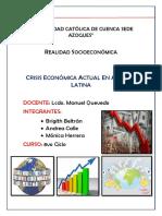 Crisis Economica Am Latina