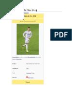 FIFA Balónde Oro2014541