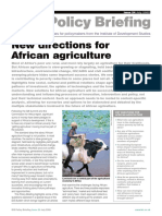 New Directions for African Agriculture