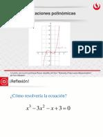 1.2 Ecuaciones Polinómicas
