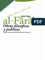 Abû Nasr al-Fârâbî - Obras Filosóficas y políticas.pdf