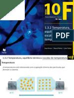Temperatura, Equilíbrio Térmico e Escalas de Temperatura (1)