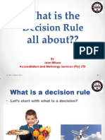 W304 What is the Decision Rule