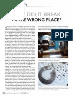 Piston Rod Failure case study