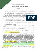 B.P. 881 Omnibus Election Code