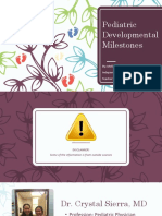 pediatric developmental milestones  correct one