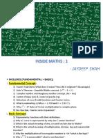 Inside Maths-Jaydeep Shah FullData