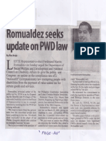 Manila Standard, May 20, 2019, Romualdez seeks update on PWD law.pdf