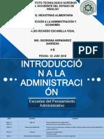 Introduccion a la administracion Presentacion