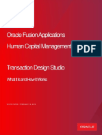 HCM 19A Transaction Design Studio FINAL