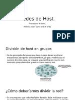 Redes de Host