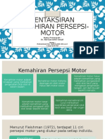 Kemahiran Persepsi Motor