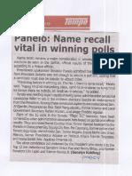 Tempo, May 20, 2019, Panelo Name recall vital in winning polls.pdf
