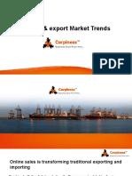 import-export market trends