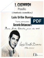 El Cucarrón. Pasillo. Partitura..pdf