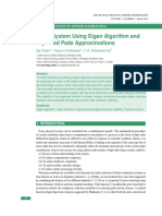 MIMO System Using Eigen Algorithm and Im