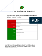 CP-190 - Quality Management System for Project Delivery.docx