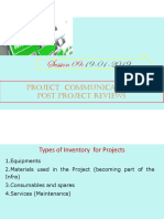09 Project Communication and Post Project Reviews