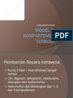 Model 3 Kompartemen