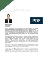 Labr Laws for Vendor Compliance Management