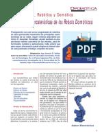 Leccion Nº 4 - Principales Carcaterísticas de Los Robots Domóticos