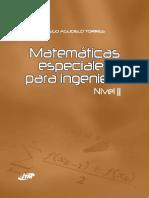 Matemáticas especiales para ingeniería. Nivel II.pdf
