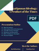 HI 165 - Katipunan Ideologies