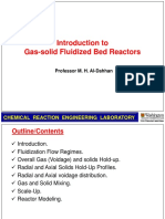 Introduction to Gas-solid Fluidized Bed Reactors