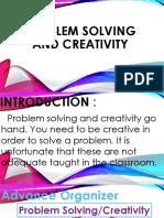 Problem Solving and Creativity Faci 5