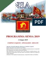 Programma Festa de la Sensa 2019