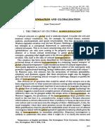 Homogenisation and Globalisation