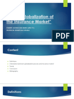 Globalization of Insurance Market