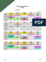 Jadwal CTB Revisi 10 Agustus 2015