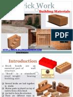 Brick Work