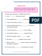 Grade 3 Grammar Worksheets Conjunctions5 (1)