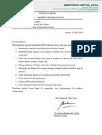 INTERNAL MEMO kewaspadaan standart.docx