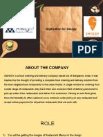 Digitization for Swiggy Training Document New