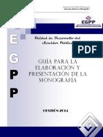 Documento Base Para La Elaboración de Monografia EGPP