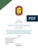 Proyecto de Investigacion Aplicada