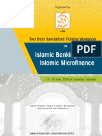 Islamic Banking, Takaful and Islamic Microfinance Training