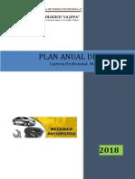 Plan de Trabajo Anual 2018