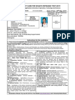 SHUATS - Entrance Test Admit Card 2019_26568 (1).pdf