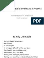 Family Development as a Process