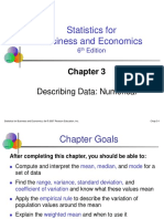Describing Data, Numerical